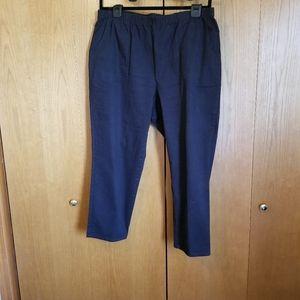 White Stag petite 22/24 black pants